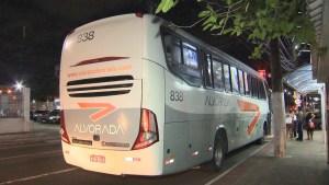 ES: Bandido acaba agredido após assalto a ônibus da Viação Alvorada
