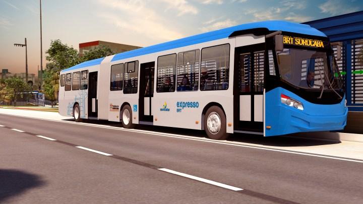 SP: BRT Sorocaba oferecerá mais conforto e comodidade durante os deslocamentos