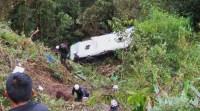 Peru: Ônibus despenca nos Andes deixando 6 mortos e 14 feridos