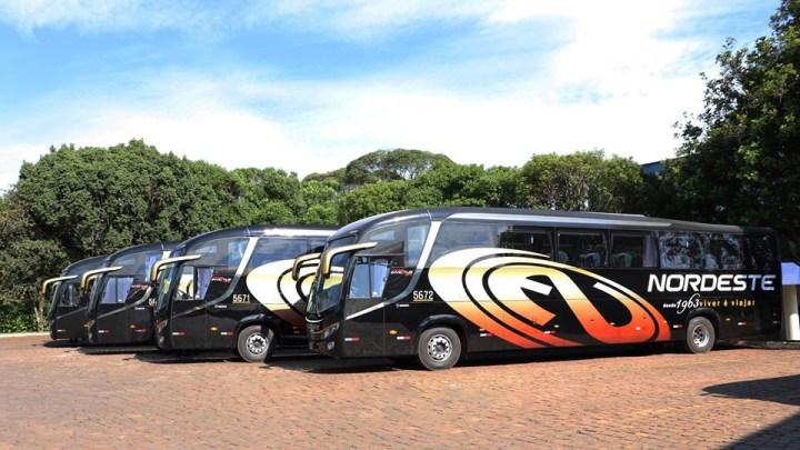 Expresso Nordeste renova parte da frota com 4 Invictus 1200 Scania