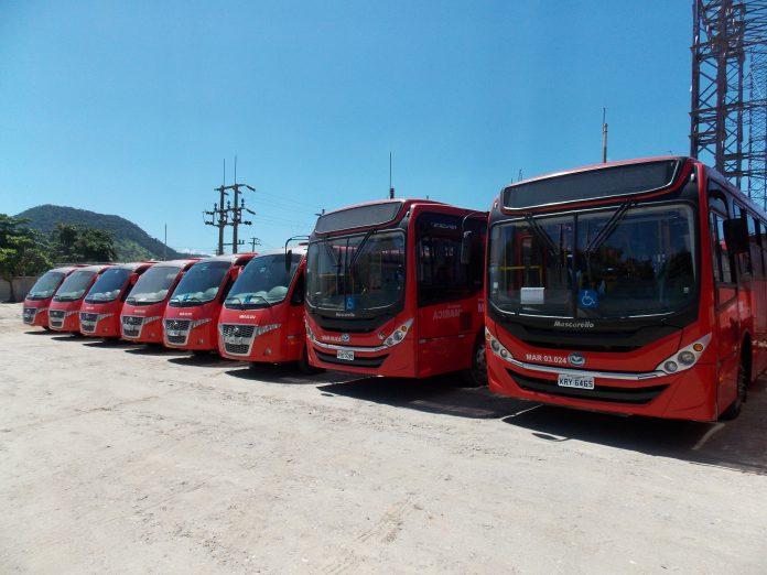 RJ: Ônibus vermelhos entram em operação nesta sexta-feira em Maricá