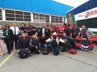 Lima: Primeiro ônibus com torcedores do Flamengo chega ao Peru nesta sexta-feira 22