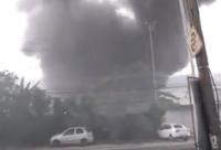 Mais uma garagem de ônibus sofre com incêndio no Rio de Janeiro