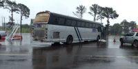 Ônibus CMA Scania é retido pela Receita Federal em Foz do Iguaçu