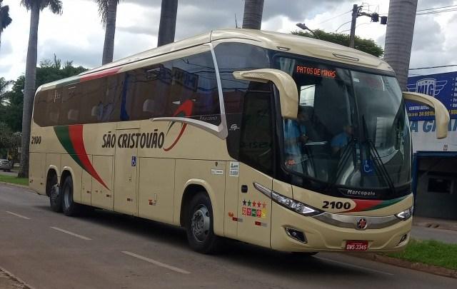 Empresa São Cristóvão inicia operação com novos ônibus na Brasília x Patos de Minas x Brasília