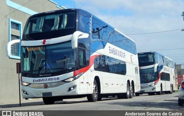 Expresso Embaixador renova frota com 10 novos ônibus DD Scania