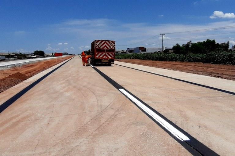 DNIT libera, nesta terça-feira (5), pista no Distrito Industrial e altera trânsito no Mato Grosso