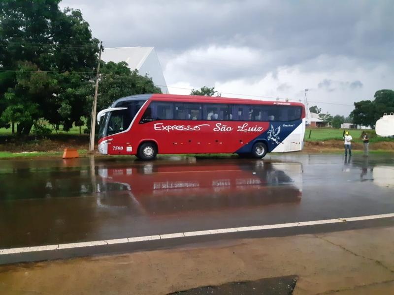 GO: ônibus da Expresso São Luiz é apreendido na BR-060 em Rio Verde