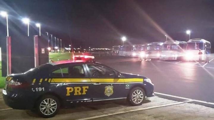 MG: PRF apreende sete ônibus piratas durante operação no Triângulo Mineiro