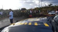 Roraima:  Protesto de garimpeiros acaba fechando a BR-174