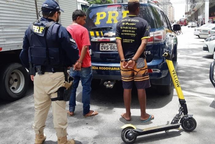 PRF prende jovem após furtar patinete elétrico e atravessar a Ponte Rio-Niterói