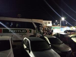 AL: Bandidos assaltam ônibus da Gontijo e estupra passageira em São Miguel dos Campos