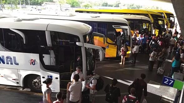 Rodoviária de João Pessoa segue com movimento intenso neste natal
