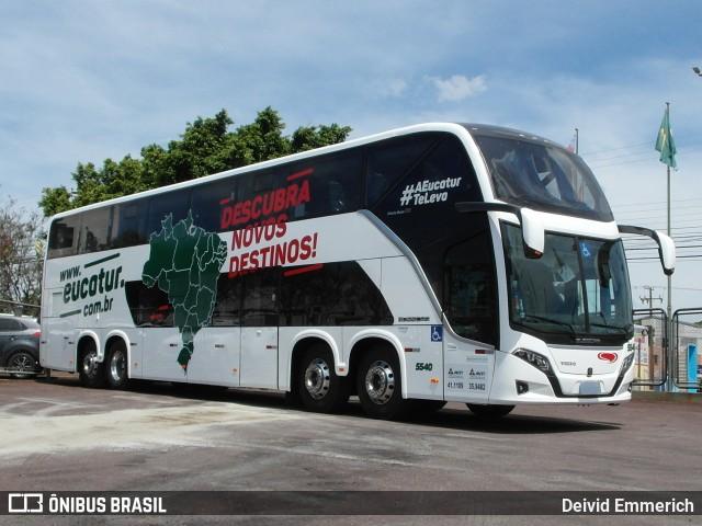 Eucatur chama atenção com novo ônibus DD Branco – Descubra novos destinos