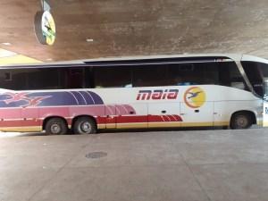 MT: Fiscalização da Ager apreende dois ônibus irregulares em Rondonópolis