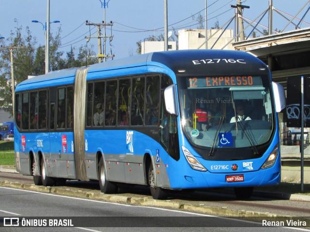BRT volta operar entre Campo Grande e Santa Cruz na Zona Oeste do Rio de Janeiro
