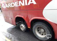 MG: Incidente com ônibus da Expresso Gardenia assusta passageiros em Paraguaçu