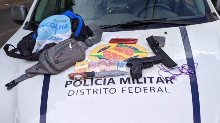 DF: Assaltantes de ônibus são detidos em Ceilândia
