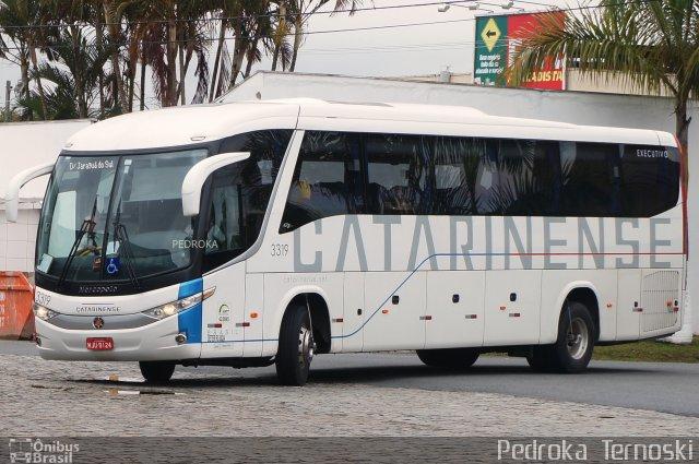SC: Ônibus da Auto Viação Catarinense viaja com passageiros em pé, denuncia cliente de Indaial