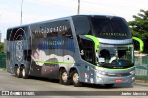 PR: Ladrões causam pânico em assalto a ônibus da Viação Garcia com destino a Foz do Iguaçu