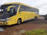 MT: Acidente com ônibus da Verde Transportes deixa passageira ferida na BR-163