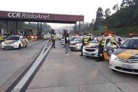 SP: Operação Rodovia Mais Segura detém 261 pessoas e recupera 44 veículos
