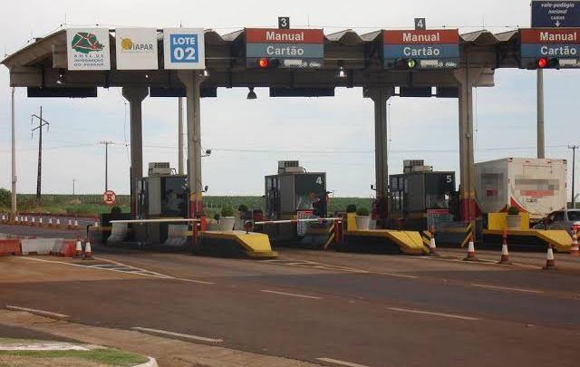 Aumenta tarifa de pedágio da ViaPar no Paraná