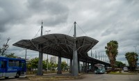 Terminal de ônibus de Porto Alegre ganha nova cobertura