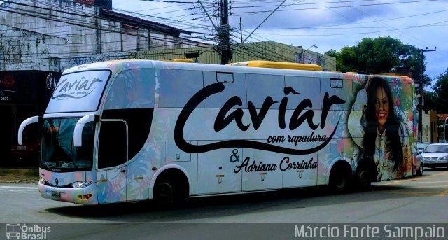 Vídeo: Ônibus da Banda Caviar com Rapadura sai da pista nesta terça-feira