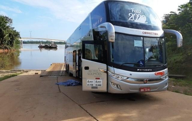 Acidente com ônibus da Eucatur mata passageira e deixa outra ferida na BR-364