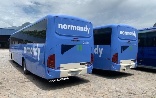 Novos ônibus Busscar da Viação Normandy já estão no Rio de Janeiro