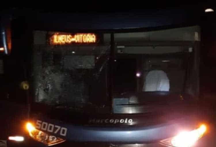 BA: Homem acaba atropelado por ônibus da Viação Aguia Branca na BR-101