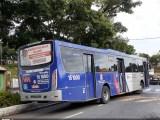 SP: Passageiros reclamam de lotação em ônibus da EMTU em Itapecerica da Serra