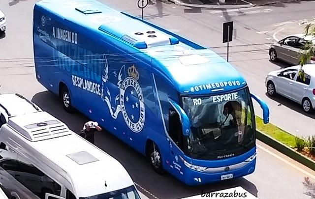MG: Cruzeiro segue para Tombos de ônibus em meio a crise financeira