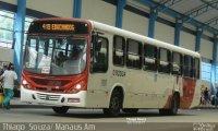 Bandidos espancam motorista de ônibus durante assalto em Manaus