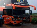 Vídeo: Acidente com ônibus da JJ Tur deixa uma pessoa morta no interior do Tocantins