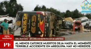 Peru: Dois brasileiros e dois americanos estão entre os mortos no acidente com ônibus da Cruz del Sur