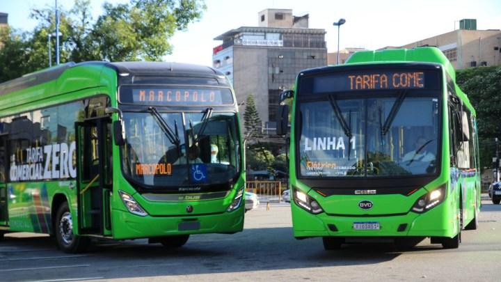 RJ: Volta Redonda conta com terceiro ônibus elétrico do projeto Tarifa Zero