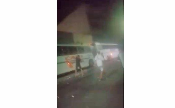 PE: Torcedores do Central apedrejam ônibus do Retrô F.C em Caruaru