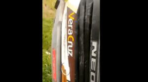 RJ: Coletivo da Auto ônibus Vera Cruz tomba na BR-040 deixando 10 feridos neste domingo 12