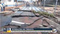 SP: Linhas de ônibus de São Carlos sofrem alterações devido problemas com a chuva