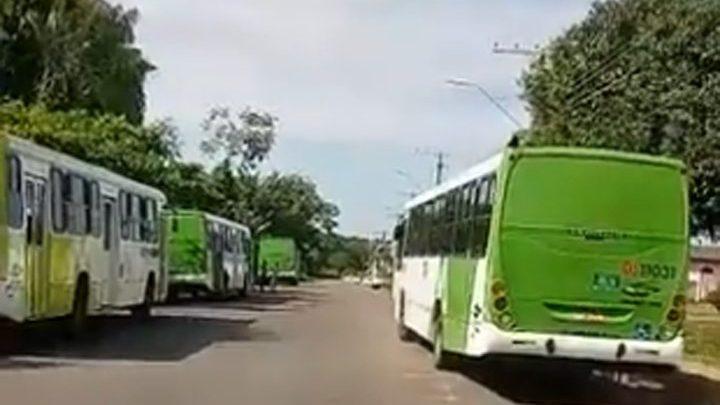 Rodoviários da Vila Verde realizam paralisação em Manaus neste sábado 4