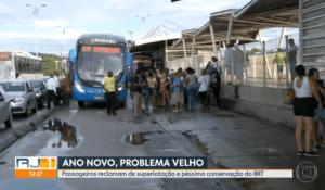 A semana começa com diversos problemas no BRT Rio