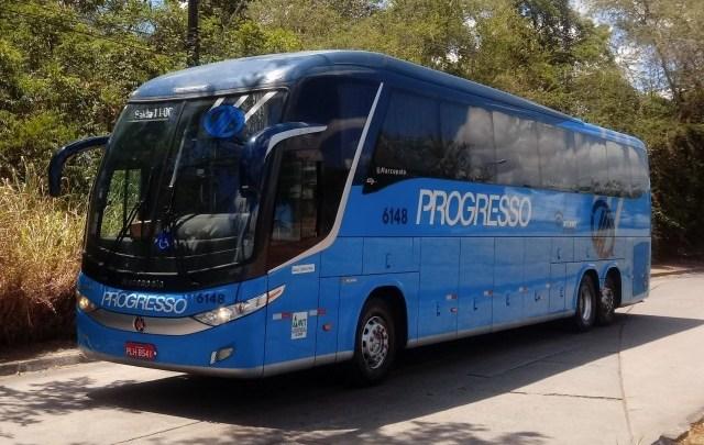 PE: Mulher morre dentro de ônibus da Auto Viação Progresso durante viagem