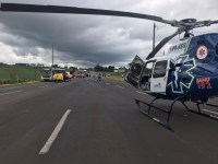 PR: Idoso tem ataque cardíaco durante viagem em ônibus na BR-376 e é salvo por equipe do SAMU