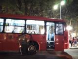 Briga de torcida depreda ônibus e estação tubo em Curitiba