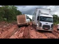 Tráfego de ônibus e caminhões na BR-230/AM segue com restrições do DNIT