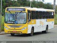 Vídeo: Acidente entre carro e ônibus na BR-324 chama atenção nesta manhã em Salvador