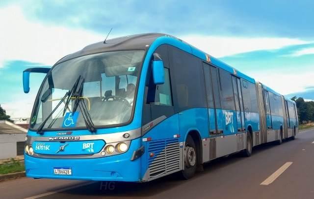 Viação Redentor repassa  ônibus biarticulado para o Acre