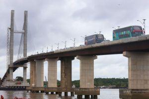 PA: Viagens rodoviárias voltam a operar pela alça-viária após inauguração da Ponte União
